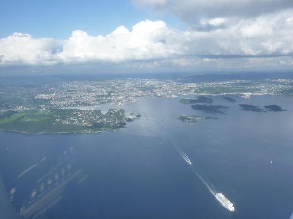 Oslo fra syd